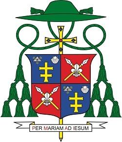 Erb BiskupaTomáša Galisa