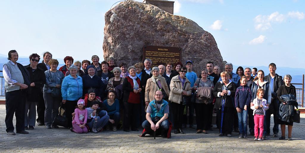 Púť rodín do Sanktuária Božieho milosrdenstva na vrchu Butkov; 8.4.2018
