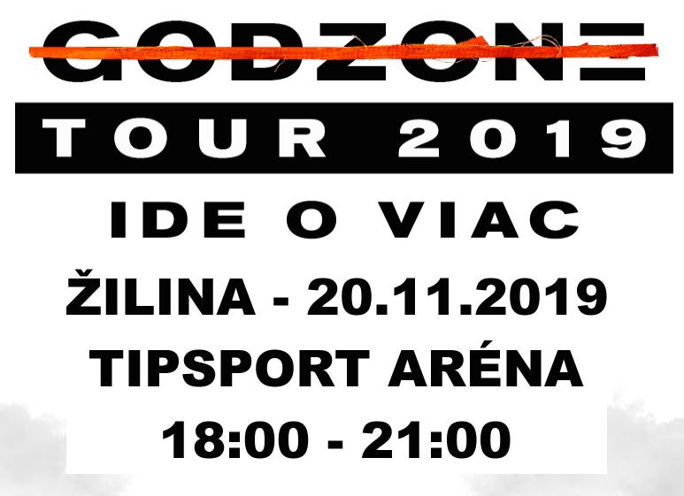OTEC BISKUP TOMÁŠ GALIS ŤA POZÝVA NA GODZONE TOUR 2019